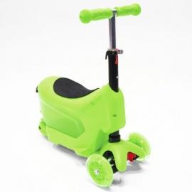 Самокат Hubster Comfort зеленый