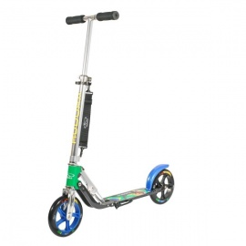 Самокат Hudora Big Wheel 205 серо-синий