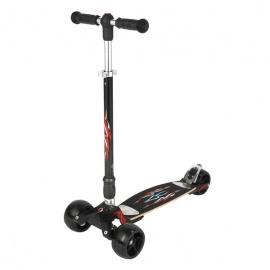 Самокат Micro Kickboard Monster Stick+T-tube трёхколёсный