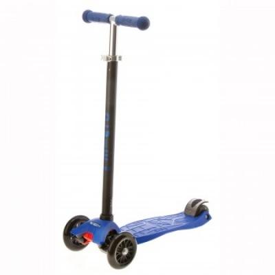 Самокат Micro Maxi T-tube трёхколёсный синий