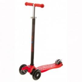 Самокат Micro Maxi T-tube трёхколёсный красный