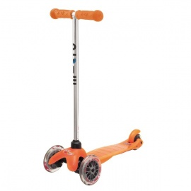 Самокат Micro Mini трёхколёсный оранжевый