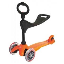 Самокат Micro Mini 3 в 1 оранжевый