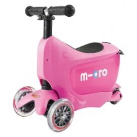 Самокат Micro Mini2go розовый