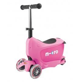 Самокат Micro Mini2go Deluxe розовый