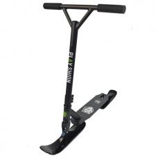 Зимний самокат на лыжах Playshion Extreme SnowScooter черный