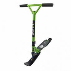 Зимний самокат на лыжах Playshion Extreme SnowScooter зеленый