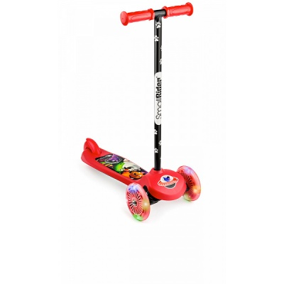 Самокат трехколесный Small Rider 2 в 1 Cosmic Zoo Scooter Flash