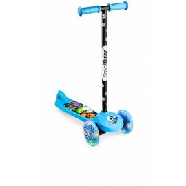 Самокат трехколесный Small Rider 2 в 1 Cosmic Zoo Scooter Flash синий