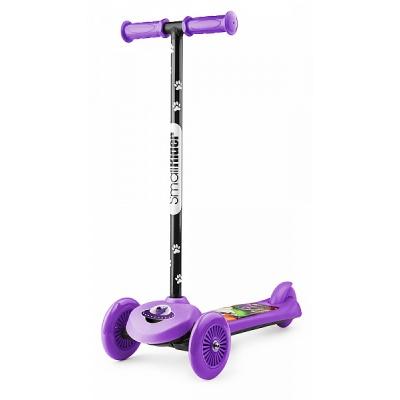 Самокат трехколесный Small Rider Scooter Cosmic Zoo фиолетовый