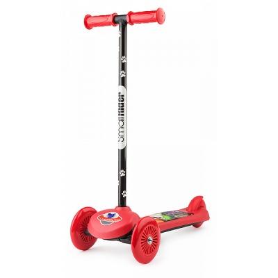 Самокат трехколесный Small Rider Scooter Cosmic Zoo красный