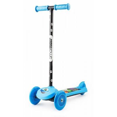 Самокат трехколесный Small Rider Scooter Cosmic Zoo синий