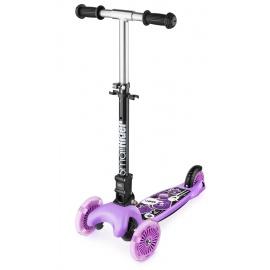 Самокат Small Rider Randy Flash со светящимися колесами фиолетовый