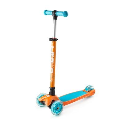 Самокат Trolo Maxi 2017 (оранжевый/голубой)