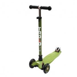 Самокат Trolo Maxi зеленый-хаки