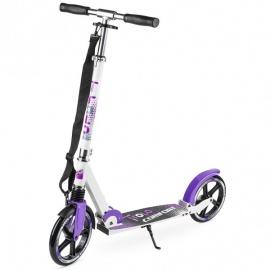 Самокат Trolo Comfort 230 бело-фиолетовый