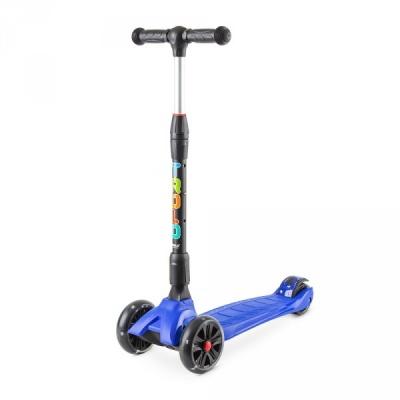 Самокат Trolo Rapid синий со светящимися колесами
