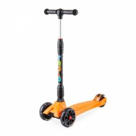 Самокат Trolo Rapid оранжевый со светящимися колесами
