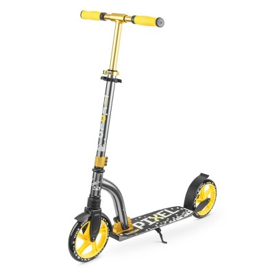 Самокат Trolo LUX Pixel желтый