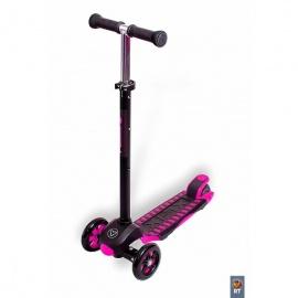 Самокат Y-bike Glider Maxi XL Deluxe розовый