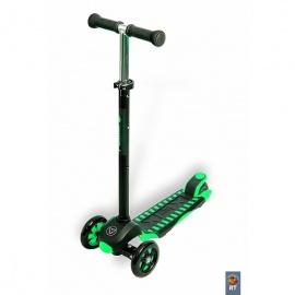 Самокат Y-bike Glider Maxi XL Deluxe зеленый