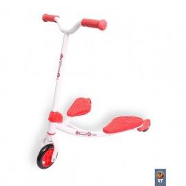 Инерционный самокат Y-Bike Fliker junior красный