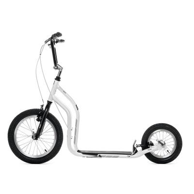 Самокат Yedoo City Premium NEW бело-черный