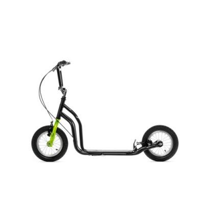 Самокат Yedoo Ox Premium New черно-зеленый