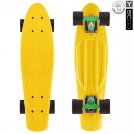 "Мини-круизер Y-Scoo Fish Skateboard 27"" с сумкой светло-желтый"