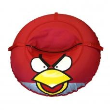 Ватрушка-тюбинг Иглу Angry Birds 100 см красная