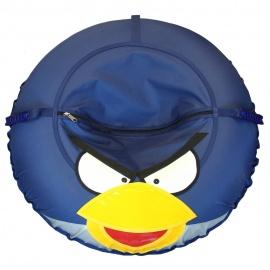 Ватрушка-тюбинг Иглу Angry Birds 100 см синяя