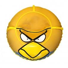 Ватрушка-тюбинг Иглу Angry Birds 100 см желтая