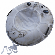 Ватрушка-тюбинг Митек Белый Медведь 95 см