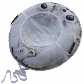 Ватрушка-тюбинг Митек Белый Медведь 110 см