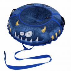 Ватрушка-тюбинг Митек Монстрик Забияка 95 см синяя